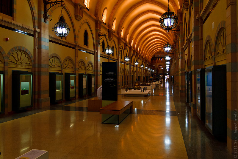 Внутри Музея исламской цивилизации в Шардже
